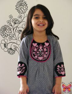 Boutique ' PINK LOTUS' shirt- 3T 4T. $25 + shipping  http://www.etsy.com/listing/82332434/boutique-pink-lotus-shirt-3t-4t-girls-5