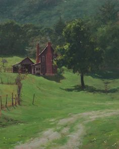 Bill Farnsworth - The Homestead- Oil