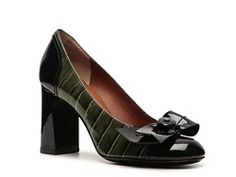 Marc by Marc Jacobs Patent Leather Bow Pump-on sale at DWS!!