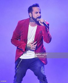 A. J. McLean of Backstreet Boys performs at the NOW 99.7 Triple Ho Show 7.0 at SAP Center on December 3, 2016 in San Jose, California.