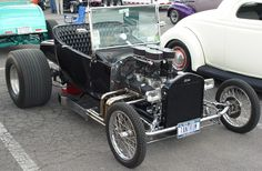 1923 Ford T-Bucket 4 air sys