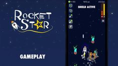 A new gameplay trailer from RocketStar #indiegames #videogames #gamesinitaly
