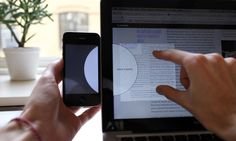 Watch This Ingenious UI Idea, For Dragging Files From Your Phone To Computer (video)
