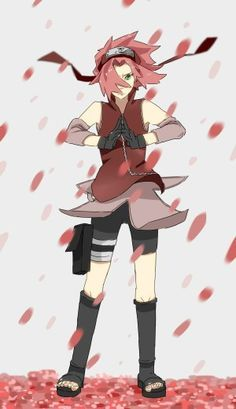 Sakura Haruno - Naruto The Last Movie by Seliverstova on DeviantArt Kakashi Itachi, Naruto Y Hinata, Naruto Anime, Naruto Girls, Naruto Art, Gaara, Naruto Gaiden, Anime Manga, Naruhina