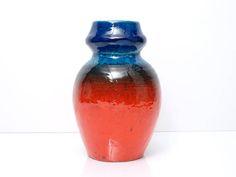 RUSCHA Vase Form 858 seltene Vintage Keramik Westdeutschland