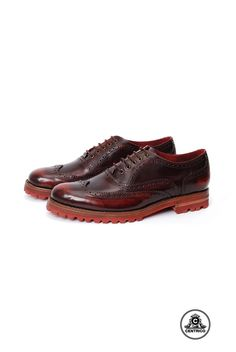 Centrico Men Brogues Bordeaux Shoes