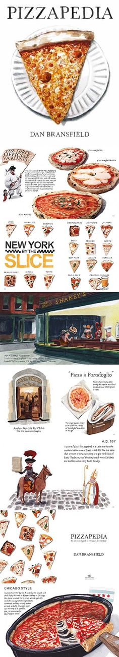 Pizzapedia: An Illustrated Guide to Everyone's Favorite Foo