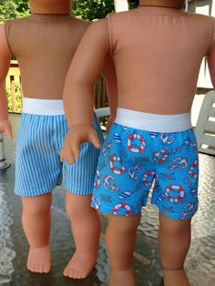 My Sibling and My Pal Dolls — boy doll clothes - boxer shorts 1
