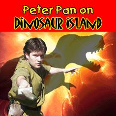 Peter Pan on Dinosaur Island animated gif