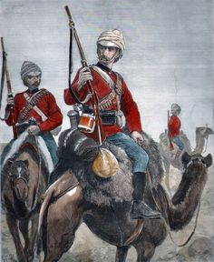 Soldiers of the Camel Corps