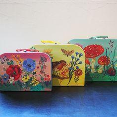 VILAC ナタリー・レテ スーツケース(ペーパートランク)セット - 大人かわいい雑貨のセレクトショップ「マッシュノート」