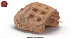 3d model of Baseball Glove Shinola by 3d_molier International
