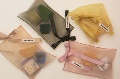 SOAP POUCH_beige - 한아조 Cool Packaging, Tea Packaging, Clothing Packaging, Jewelry Packaging, Homemade Bracelets, Gift Baskets For Women, Diy Resin Art, Packaging Design Inspiration, Bag Accessories