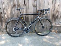 Pegoretti Love #3, Guantanamo Black paint scheme, Sram Force 11, Enve 3.4 SES wheels.... the best bike ever?!