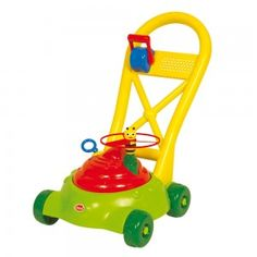 Flying Bee Lawn Mower Children will love helping to 'mow' the lawn with this cheerful mower! Perfect for sunny days, the mower has an added bonus - a spinning, friendly bee - ensuring plenty of fun for all! Bath Toys, Lawn Mower, Bold Colors, Sunny Days, Childhood Memories, Bee, Children, Spinning, Lawn Edger