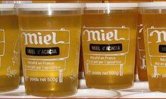 Miel, mention de l'origine Pots, Organic Recipes, Drinks, Natural Kitchen, Organic Cooking, Food, Drinking, Beverages
