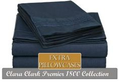 6 PC Sheet Set Premier 1800 Bedding Collection for only $13 Shipped!! Reg $129!!   Cali Coupon Chick