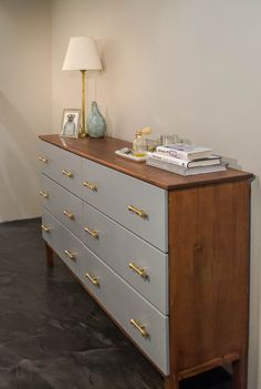Ikea Tarva Dresser 3 Drawer Inspirational Ikea Tarva Hack Mid Century Inspired I. - Ikea DIY - The best IKEA hacks all in one place Ikea Dresser Makeover, Ikea Furniture Makeover, Ikea Tarva Dresser, Ikea Drawers, Dressers, Chest Drawers, White Drawers, Upcycled Furniture, Home Furniture