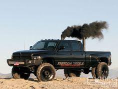 Smokin' Dodge Ram