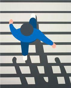 Illustration Geoff McFetridge, Meditallucination.