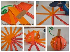 klikni pro další 168/384 Fall Crafts, Arts And Crafts, Vegetable Crafts, Halloween Pumpkins, Seasons, Kids, Printables, Holidays, Education