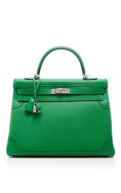 5940d832441 Hermes 35cm Bamboo Ghillies Kelly Bag