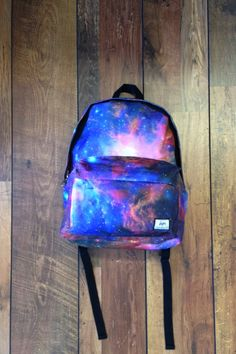 Galaxy Backpack for fashion girls #galaxy #backpacks #girls www.loveitsomuch.com