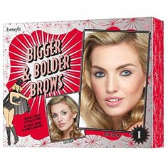Benefit Bigger Bolder Brows Light 1 * Check out the image by visiting the link. (This is an affiliate link) Eyebrow Stencil, How To Color Eyebrows, Bold Brows, Color Kit, Brow Shaping, Natural Looks, Sculpting, Benefit
