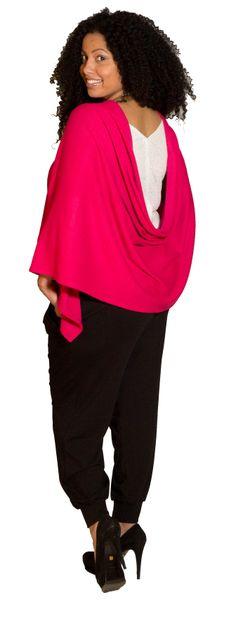 Harem Pink Wrap  Linen Tank