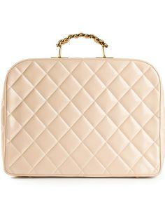 48ab9975701 Chanel Vintage Quilted Case Sacs À Main Matelassés