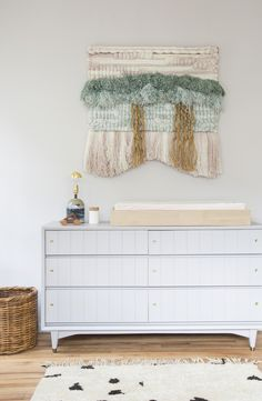 To say we are huge fans of Sharon Montrose and her amazing Animal Prints would be an understatement. That's why we are thrilled to share this gorgeous space with you today, designed by Sharon. Sharon designed a soothing California nursery based around pieces she loves. Since launchingThe