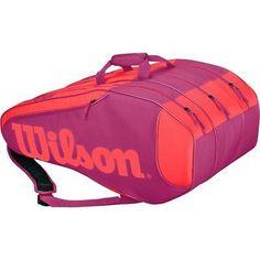 #Wilson burn team 12 #tennis racket bag #(pink) rrp £80,  View more on the LINK…