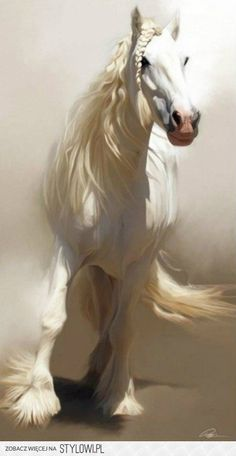 This is close to the what the horse looked like in my dream last night but even more magical.