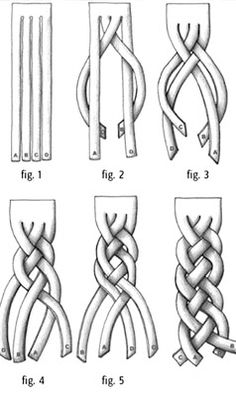 4 Strand Braid, I need someone to practice this on.