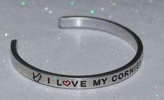I Love My Cornish Rex Cat |:| Handmade & Polished Bracelet