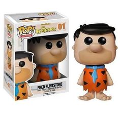 The Flintstones Fred Flintstone Pop! Vinyl Figure in Toys, Hobbies, Action Figures, TV, Movie & Video Games   eBay