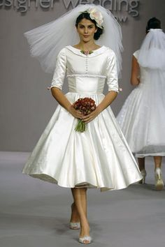 Short dresses from the 1950's!! #socute