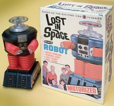 """REMCO TOYS  Remco Lost In Space Robot. """"Every boy needs a Remco toy, and so do girls"""" ***"""