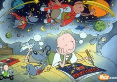 Doug! Also Rocko, Rugrats, & Ren & Stimpy before they were rated TV14 even though they are the exact same show.