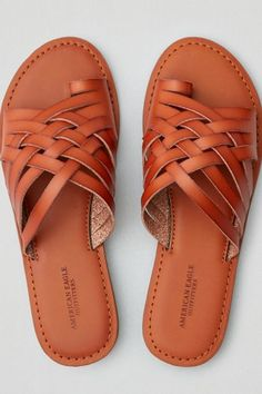 AE Woven Toe Ring Sandal