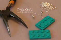Fun Lego Earrings!