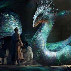 Novembre i 4 look con cui ho partecipato alla challenge Harry Potter Beasts, Harry Potter World, The Beast, Magical Creatures, Fantasy Creatures, Fantastic Beast Quotes, Dessin Game Of Thrones, Beast Creature, Fantasy Art Landscapes