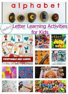 All Things Kids Activities has a few great FREE letter learning resources for you as you start teaching your preschooler about her numbe