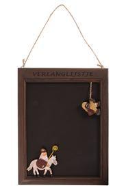 Karácsonyi kívánságlista író tábla fából. Mérete: magasság: 40 cm, szélessége: 30 cm, mélysége: 2 cm Súlya: 0,5 kg