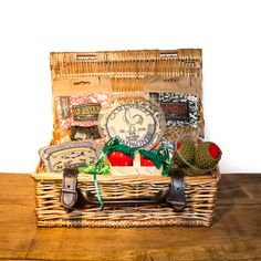 Our Kitnic Hamper is an indulgent summer treat for the kitty with a sophisticated palate. The Kitnic Hamper is filled with delectable natural treats, as well as a few fun picnic inspired toys, all of which are filled with premium catnip for that extra special treat. The handcrafted toys and the delicious treats are made in the UK. Hampers, Summer Treats, Salmon, Picnic, Artisan, Basket, Kitty, Inspired, Pets