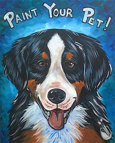 our ever popular paint your pet class pwat paint your