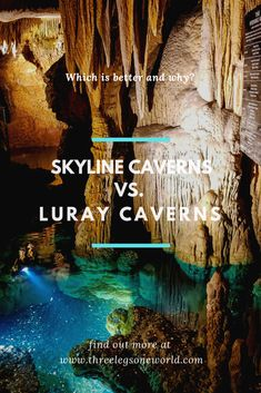 If you find yourself in Shenandoah Valley, Virginia and only being able to visit one place should you visit Skyline or Luray Caverns? Shenandoah Caverns, Shenandoah Valley, Virginia Vacation, Florida Travel, Luray Virginia, Luray Caverns Virginia, Virginia Is For Lovers, Shenandoah National Park, Mountain Vacations