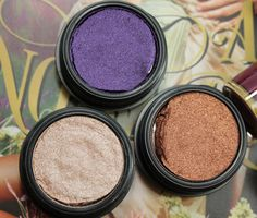 MAC Electric Cool Eye Shadow Highly Charged, Coil, Pure Flash!