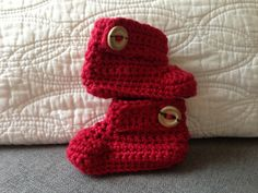 Ravelry: Baby boots by MissCro