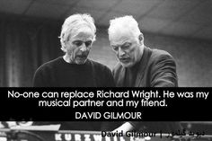 Friends to the end | Rick Wright & David Gilmour | Pink Floyd